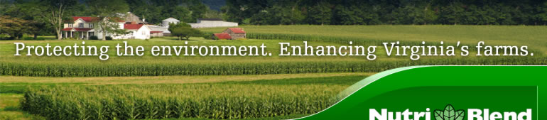 Protecting the environment. Enhancing Virginia's farms.